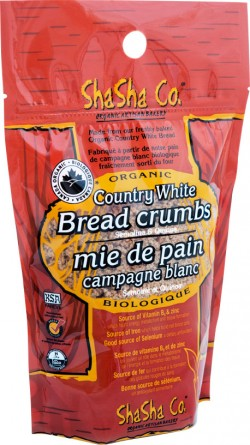 Shasha Country White Bread Crumbs