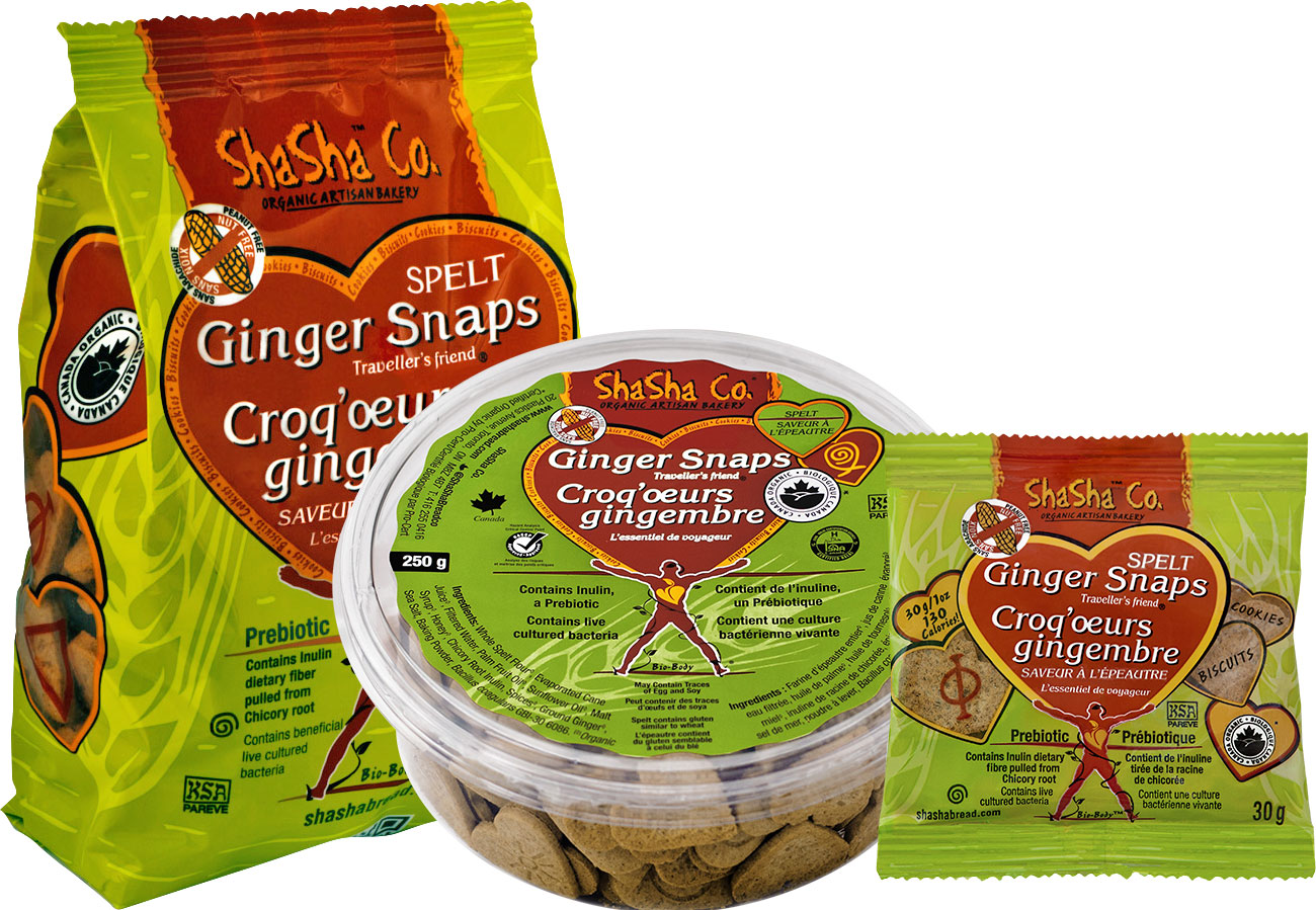 Shasha Bread Co. Ginger Snaps