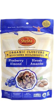Organic Clusters - Blueberry Almond